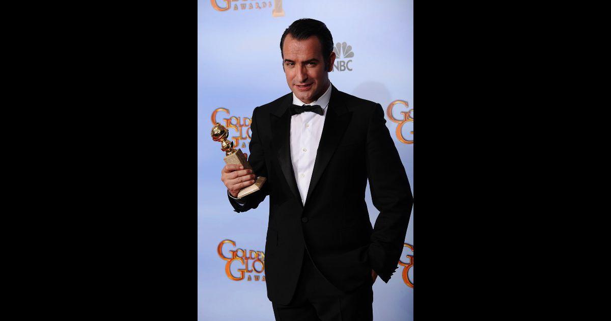 Jean dujardin lors des golden globe awards beverly hills for Dujardin 94