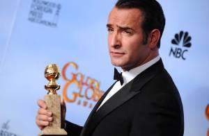 Golden Globes 2012 : Jean Dujardin triomphe, ému et au comble du bonheur