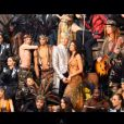 La troupe au grand complet dans le making of du shooting photo de Adam et Eve, La Seconde Chance
