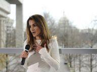 Rania de Jordanie : Pendant que son mari rencontre Obama, elle ne chôme pas