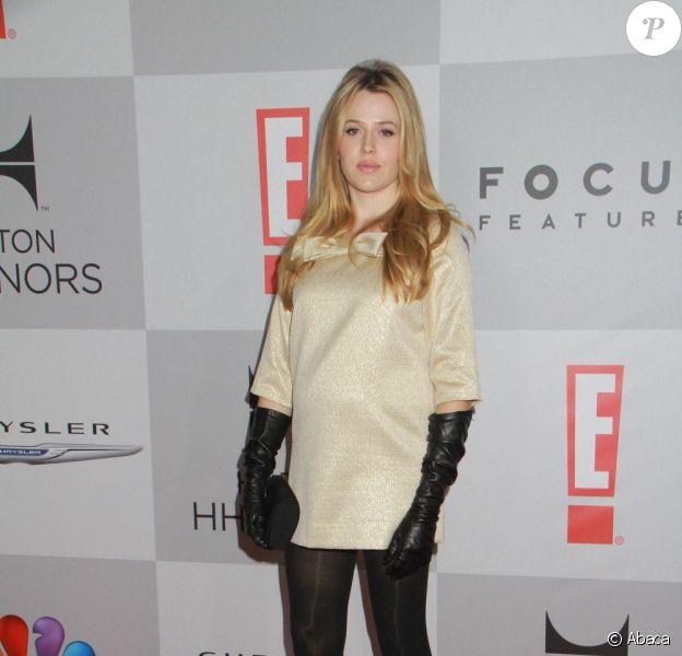 Majandra Delfino à Beverly Hills pour les Golden Globes le 15 janvier 2012