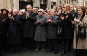 Obsèques de Mireille Darc  Bernard Montiel répond aux