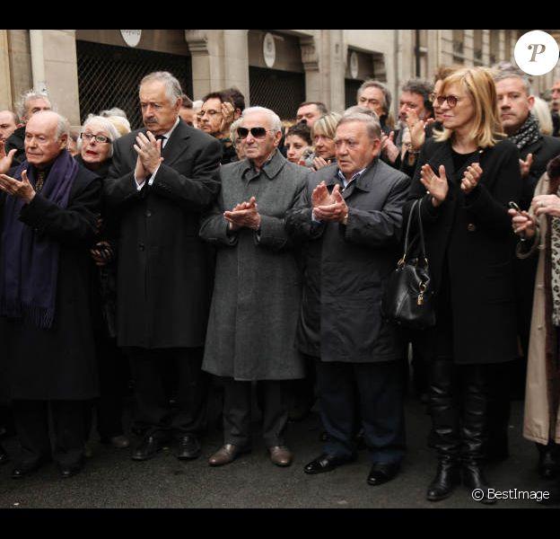 Obsèques de Rosy Varte, en l'église arménienne à Paris, le 19 janvier 2012