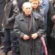 Jean-Marc Thibault lors des obsèques de Rosy Varte, en l'église arménienne à Paris, le 19 janvier 2012
