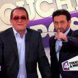 Jean-Pierre Pernaut et Cyril Hanouna dans la bande-annonce de Touche pas à mon poste le jeudi 19 janvier 2012 sur France 4 à 22h40