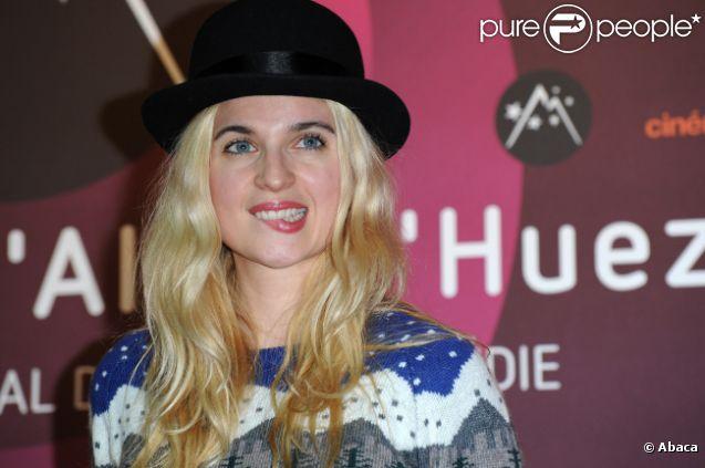 Cécile Cassel lors du 15e Festival du film de comédie de l'Alpe d'Huez le 20 janvier 2012