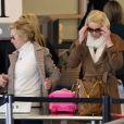 Katherine Heigl à l'aéroport de Los Angeles, le 21 janvier 2012.