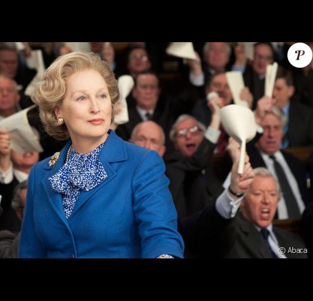 Meryl Streep dans La Dame de Fer.