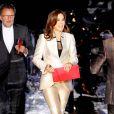 La princesse Mary lors de la soirée des Ecco Walk in Style Awards, à Copenhague, le 31 janvier 2012.