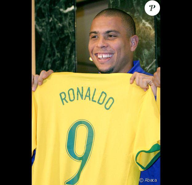 Ronaldo le 28 février 2006 à Moscou