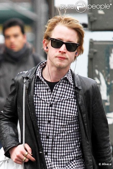 Macaulay Culkin en janvier 2011 à New York