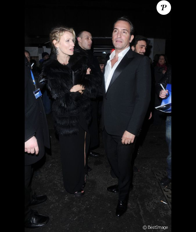Jean dujardin et alexandra lamy lors de l 39 after party des for Jean dujardin bafta