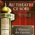 Jean-Jacques Bricaire était à l'origine de l'émission Au Théâtre ce Soir