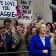 Meryl Street dans le film La Dame de fer