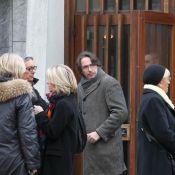 Obsèques de Jean-Pierre Spiero : Florian Gazan ému devant Drucker et Castaldi