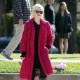 Gwen Stefani : heureuse lorsqu'elle surveille ses adorables fistons Kingston et Zuma s'éclatent dans un parc de Santa Monica le 18 février 2012