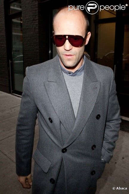 Jason statham à new york le 22 février 2012