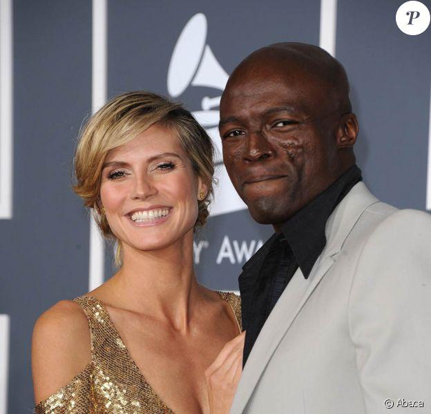 Seal et Heidi Klum en février 2011. Seal et Heidi Klum ont annoncé leur séparation le 23 janvier 2012. Depuis, le chanteur britannique en parle librement, tandis que le top model fait profil bas.