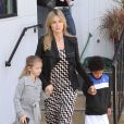 Heidi Klum et ses enfants en février 2012.   Seal et Heidi Klum ont annoncé leur séparation le 23 janvier 2012. Depuis, le chanteur britannique en parle librement, tandis que le top model fait profil bas.