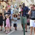 Seal et Heidi Klum en famille à Saint-Tropez en août 2010.   Seal et Heidi Klum ont annoncé leur séparation le 23 janvier 2012. Depuis, le chanteur britannique en parle librement, tandis que le top model fait profil bas.