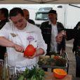Cyrille pendant la cinquième émission de Top Chef 3, lundi 27 février 2012 sur M6
