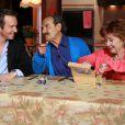 Les héros de Scènes de ménages pendant la cinquième émission de Top Chef 3, lundi 27 février 2012 sur M6