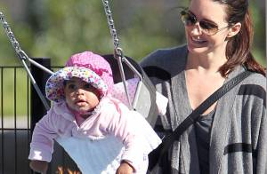 Kristin Davis : Maman comblée avec sa craquante merveille Gemma Rose