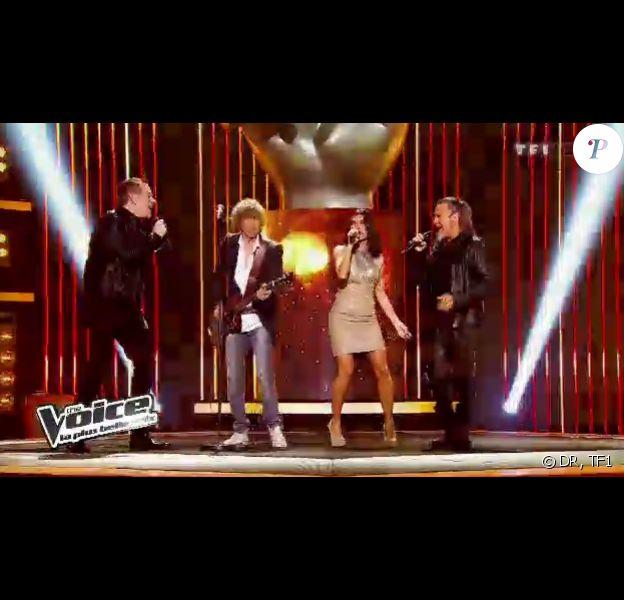 Les coachs chantent Rolling in the Deep d'Adele dans The Voice, samedi 25 février sur TF1