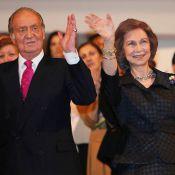Le roi Juan Carlos et la reine Sofia, bientôt 50 ans de mariage, à l'unisson