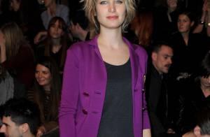 Fashion Week : Pauline Lefèvre et Elsa Zylberstein pour un instant coloré