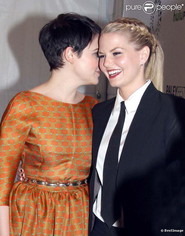 Ginnifer Goodwin et Jennifer Morrison à la soirée  Once Upon A Time , à Beverly Hills, le 4 mars 2012.