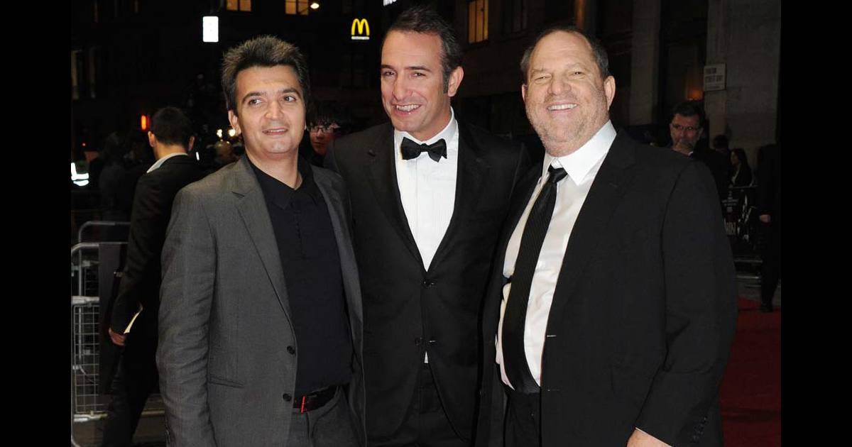 Harvey weinstein en compagnie de thomas langmann et jean for Dujardin weinstein