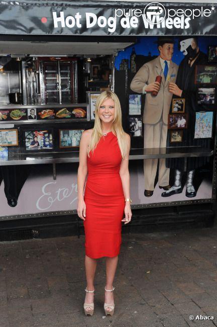 Tara Reid vient s'amuser pour présenter American Pie à Sydney, le 6 mars 2012.