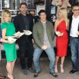 Chris Klein, Mena Suvari, Seann William Scott, Jason Biggs, Tara Reid et Eugene Levy viennent s'amuser pour présenter American Pie 4 à Sydney, le 6 mars 2012.
