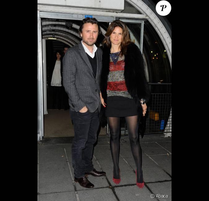 Alexandre brasseur et sa femme lors de la soir e the artist au restaurant le georges paris le - Alexandre jardin et sa femme ...