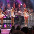 Les Coco Girls lors de l'enregistrement de l'émission Les Années Bonheur le 6 mars 2012 - diffusion le 17 mars sur France 2