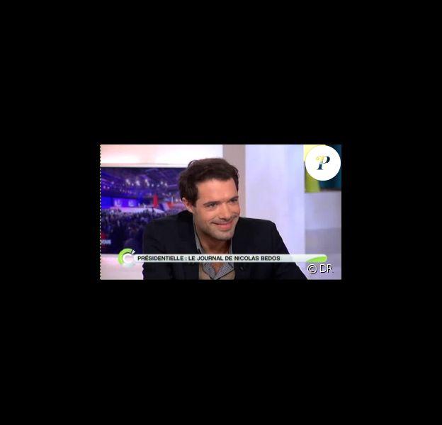 Nicolas Bedos dans C à vous sur France 5 le lundi 12 mars 2012