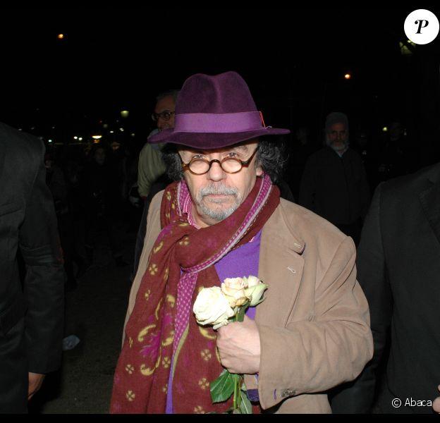 Jean-Michel Ribes en décembre 2011 à Paris.