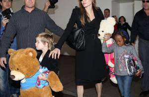 Angelina Jolie : Shiloh et Zahara invitent de nouveaux membres dans la famille
