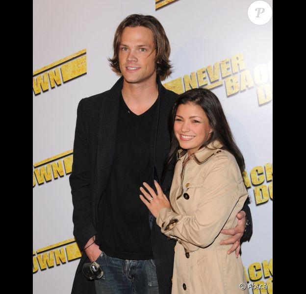 Jared Padalecki et sa femme Genevieve en mars 2008 à Los Angeles