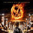 Une affiche de  Hunger Games.
