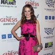 Sophia Bush lors des 26es Genesis Awards à Beverly Hills, le 24 mars 2012