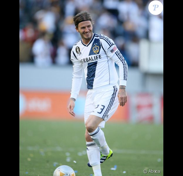 David Beckham le 18 mars 2012 à Los Angeles