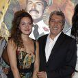 Louise Chabat et son père Alain Chabat lors de l'avant-première du film Sur la piste du Marsupilami à Paris le 26 mars 2012