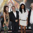 Aïssa Maïga, Louise Chabat, Alain Chabat, Liya Kebede et Jacques Weber lors de l'avant-première du film Sur la piste du Marsupilami à Paris le 26 mars 2012