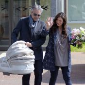 Andrea Bocelli et Veronica Berti : Retour à la maison avec leur bébé, Virginia