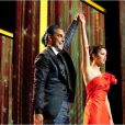 Stanley Tucci et Jennifer Lawrence dans  Hunger Games.
