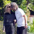 Goldie Hawn et Kurt Russell, amoureux à Los Angeles le 28 mars 2012