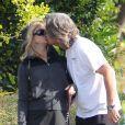 Goldie Hawn et Kurt Russell amoureux à Los Angeles le 28 mars 2012