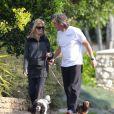 Goldie Hawn et Kurt Russell toujours aussi amoureux à Los Angeles le 28 mars 2012